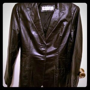 Valerie Stevens Petites PM Lined Leather B…